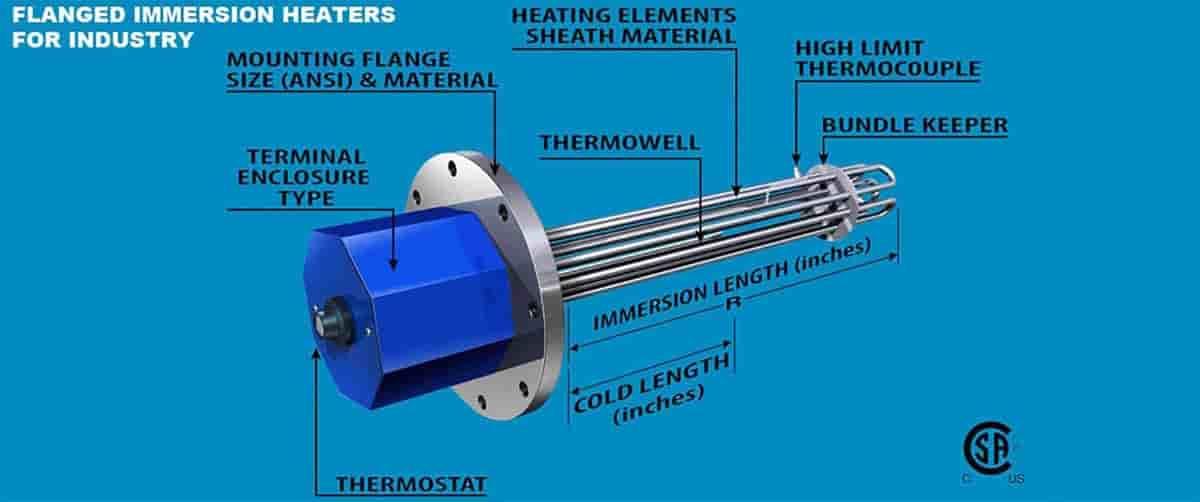 Elevtric heater & Sensor